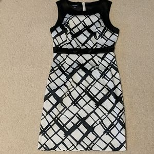 Maurice's black and white size 3/4 dress